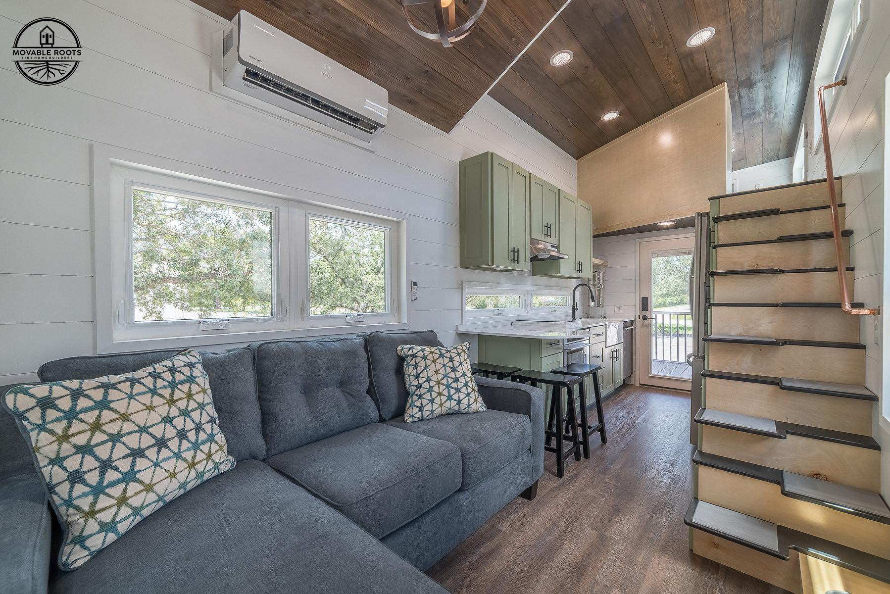 3 Bedroom Elmore Tiny House On Wheels By Movable Roots Dream Big Live Tiny Co