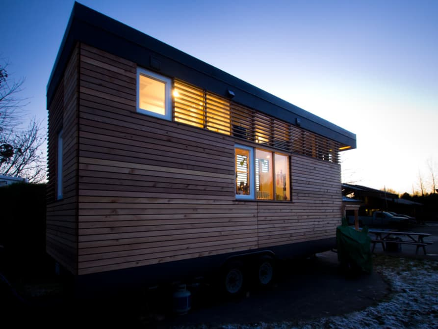 "186-sqft ""Thousand Crow"" Tiny Home on Wheels by Camera Buildings"