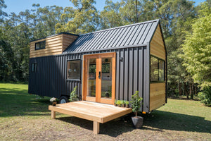 "The 31' ""Sojourner"" Tiny House by Australian-based Häuslein Tiny House Co."