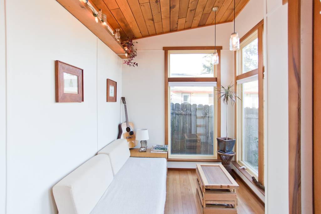 Handcrafted Rustic X Modern Tiny House in Portland - Dream Big Live ...