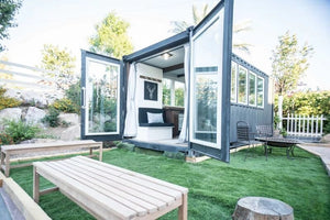 165-sqft Container Home by Alternative Living Spaces in Sacramento