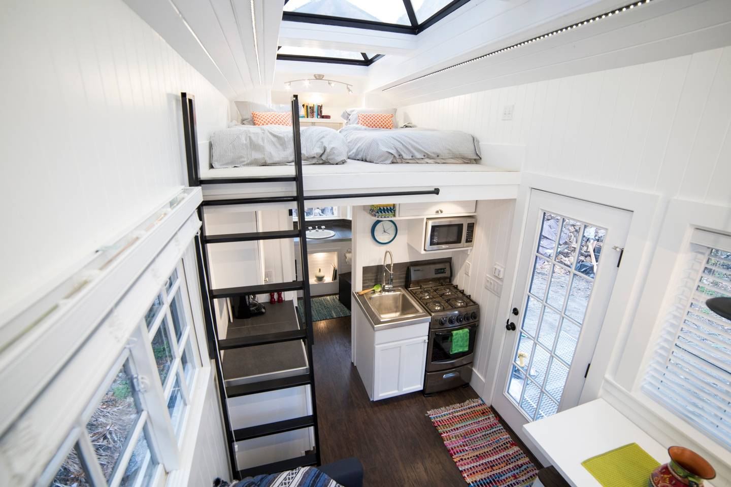 Tiny Home with Giant Skylights in Utah