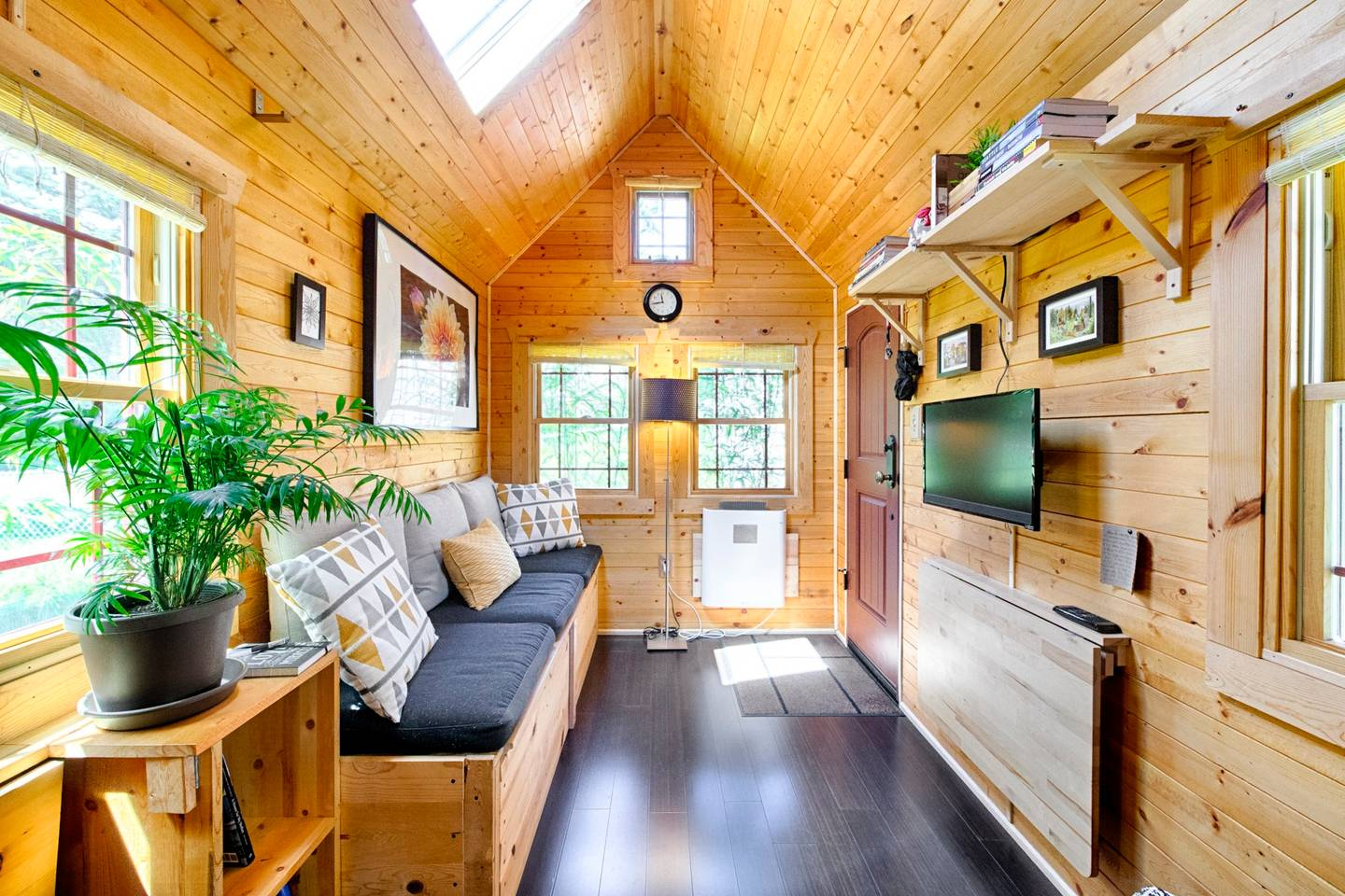 Photos Tiny House Seattle Wa: The Self-Built Tiny Tack House In Seattle