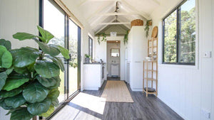 "23.6' ""Coolum 7.2"" Tiny Home on Wheels by Aussie Tiny Houses"