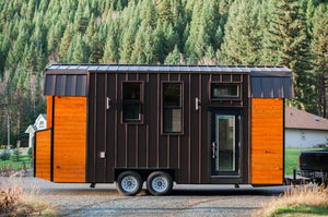 "24' ""Aspen"" Tiny House on Wheels by Borealis Tiny Homes"