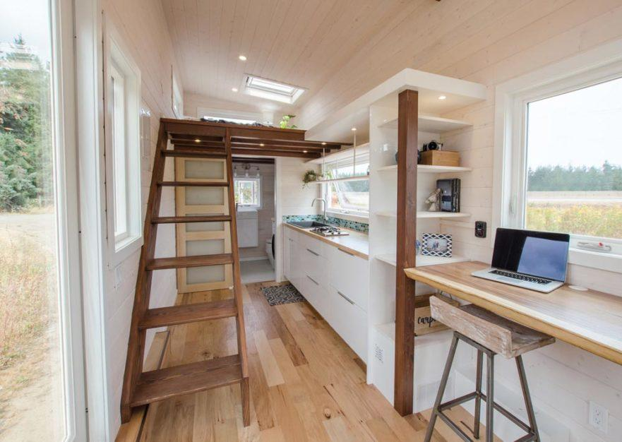 "24' ""Stellar Jay"" Tiny House on Wheels by Rewild Homes"