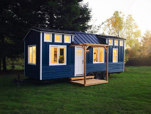 "28' ""Cadence"" Tiny House on Wheels by Handcrafted Movement"