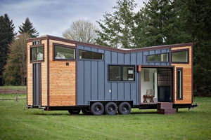 "30' ""Breezeway"" Tiny House on Wheels by Tiny Heirloom"