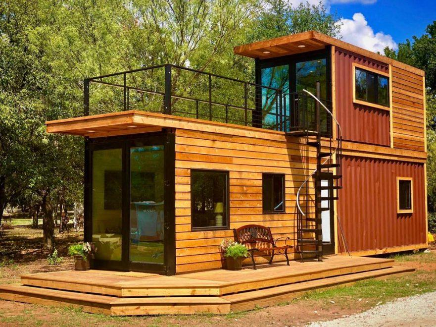 "480-sqft ""Helm"" Shipping Container Home by Texas-based CargoHome"