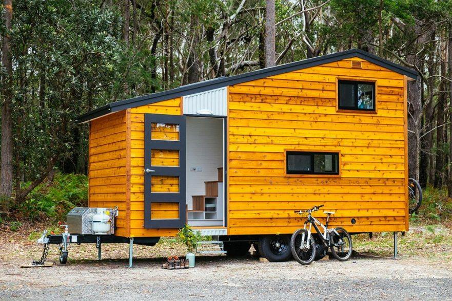 "6m ""Adventure Series 6000SL"" Tiny House on Wheels by Designer Eco Homes"