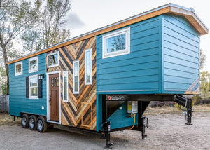 Custom 32' Gooseneck Tiny House on Wheels by MitchCraft Tiny Homes