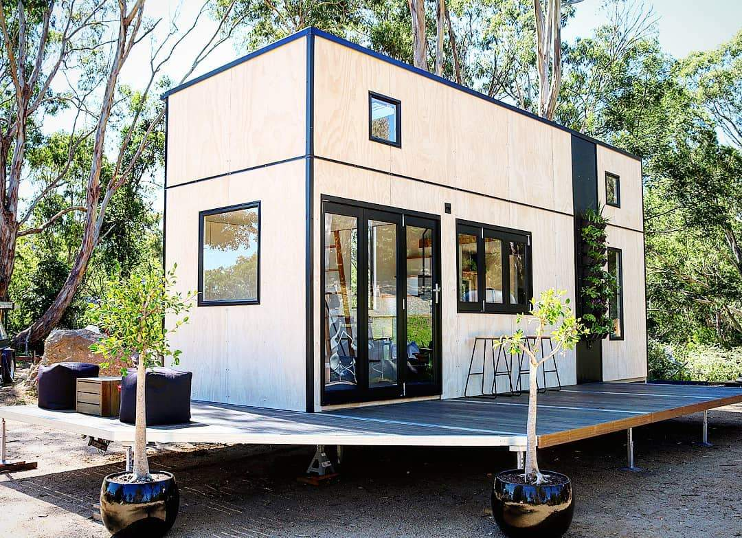 "8m ""Showcase"" Tiny Home on Wheels by Sowelo Tiny Houses"