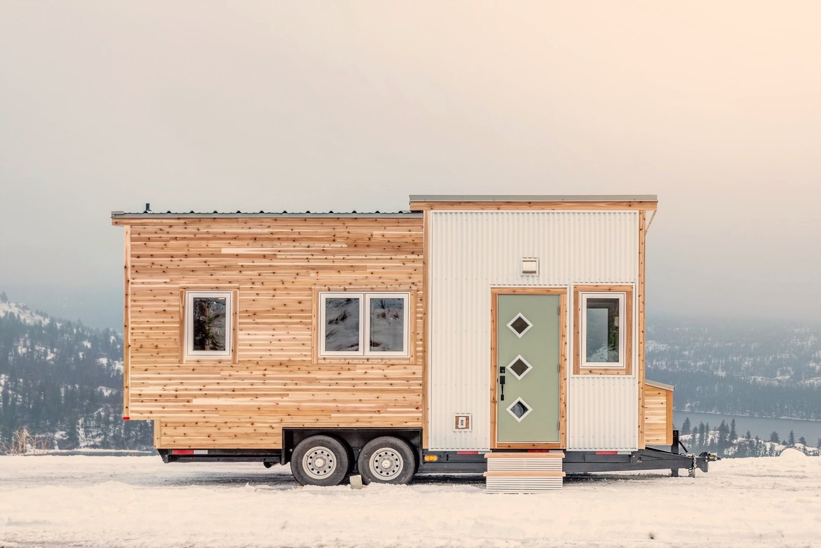 "20' ""Cabana"" Tiny House on Wheels by Summit Tiny Homes"