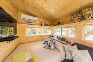 "21.5' ""Vista boho"" Tiny House on Wheels by ESCAPE Tiny Homes"