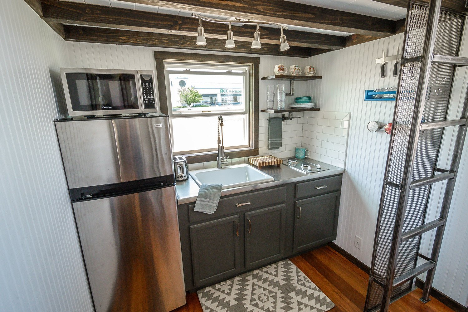 "The 26' ""Triton"" Tiny House on Wheels by Wind River Tiny Homes"