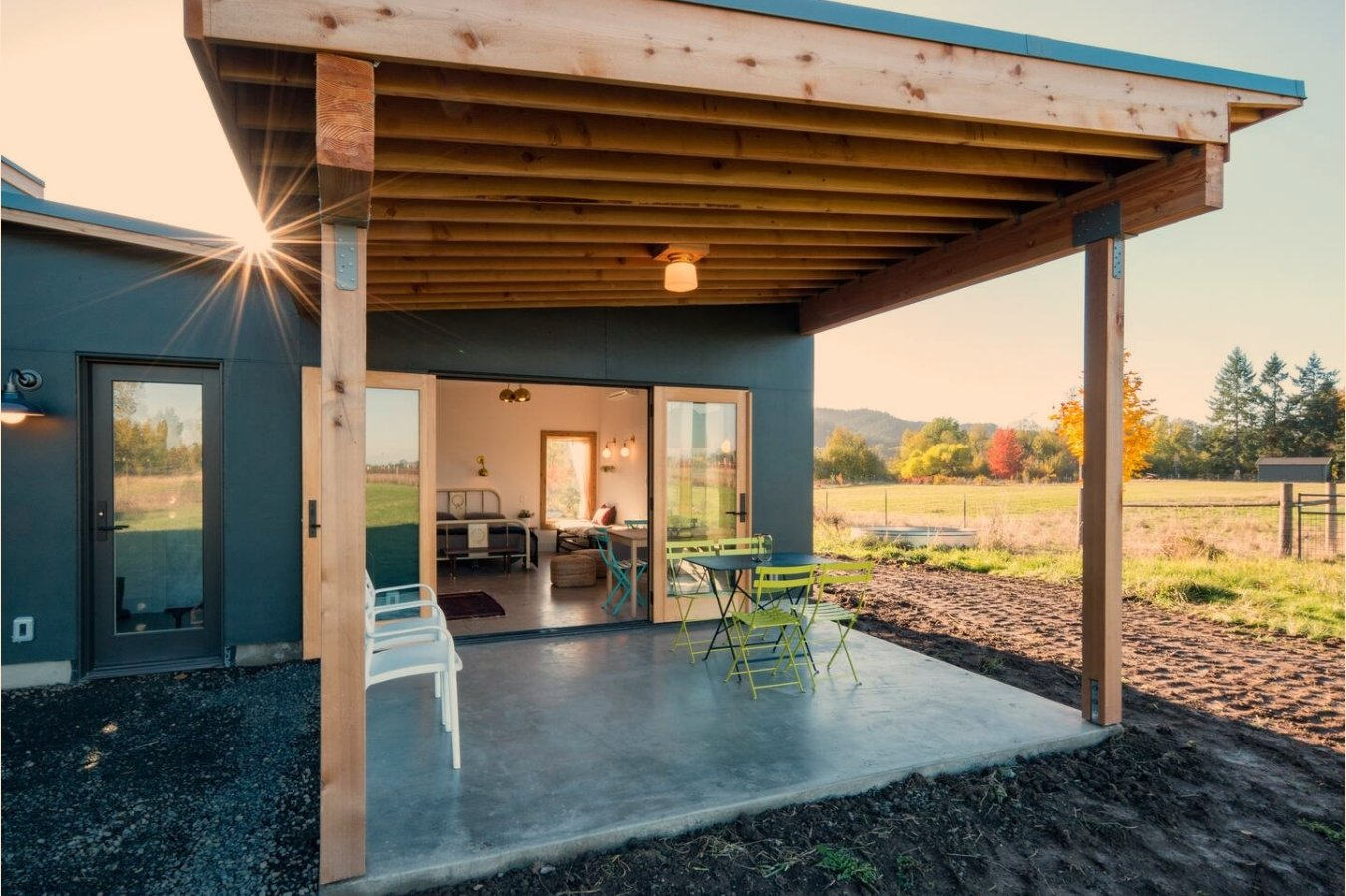 "300-sqft ""Tu Casa"" Foundation ADU Tiny House in Portland, Oregon on Airbnb"
