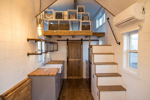 "The 24' ""Modern Farmhouse"" (Take Five) Tiny House by Liberation Tiny Homes"