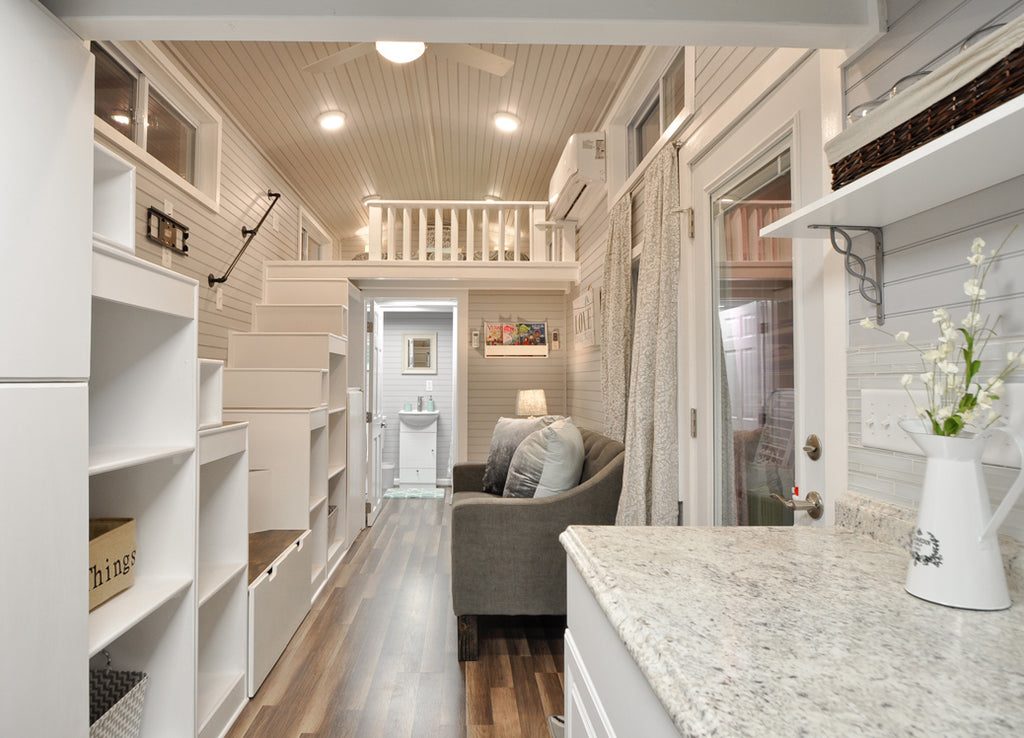 The Elegant Kate Tiny Home on Wheels by Tiny House Building Co