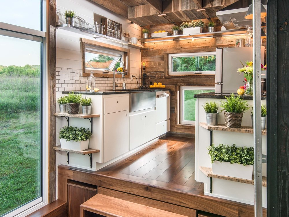 Alpha Tiny House On Wheels By New Frontier Homes