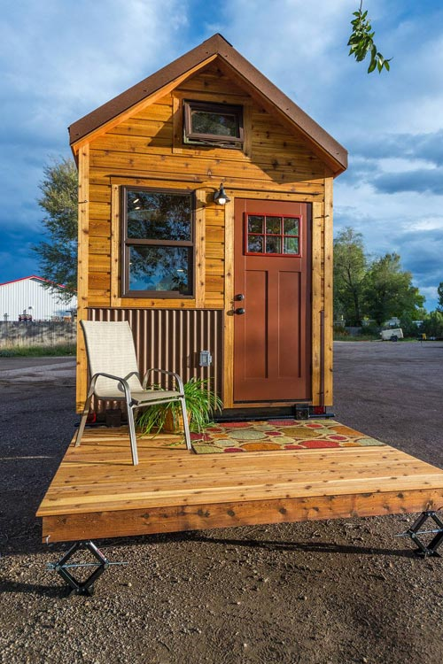 Davis's Tiny House on Wheels by Mitchcraft Tiny Homes in Fort Collins, Colorado
