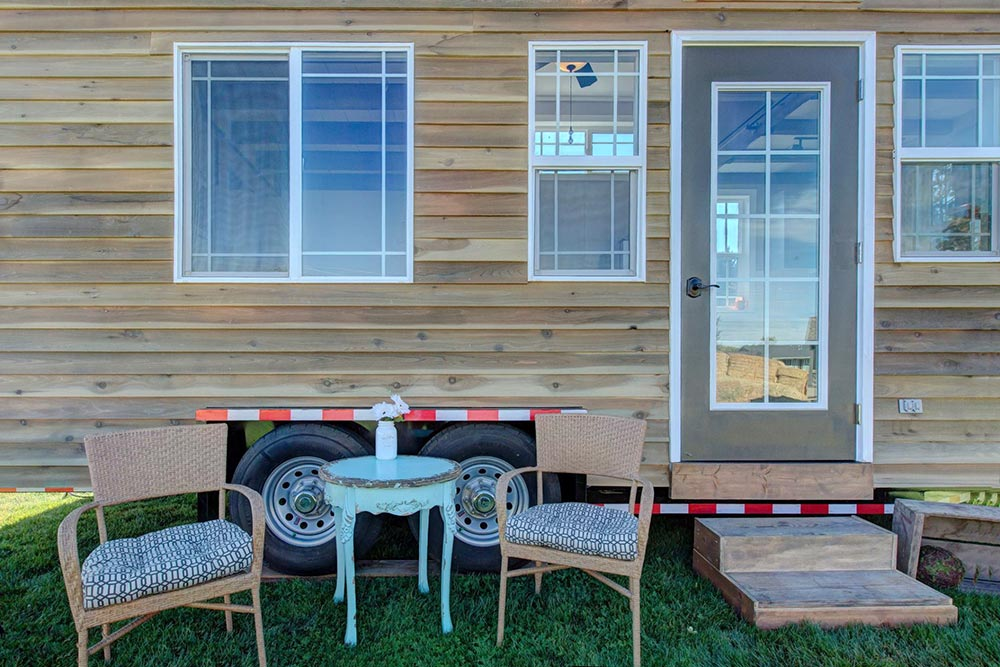 Huckleberry Tiny House on Wheels by Mouse House Tiny Homes