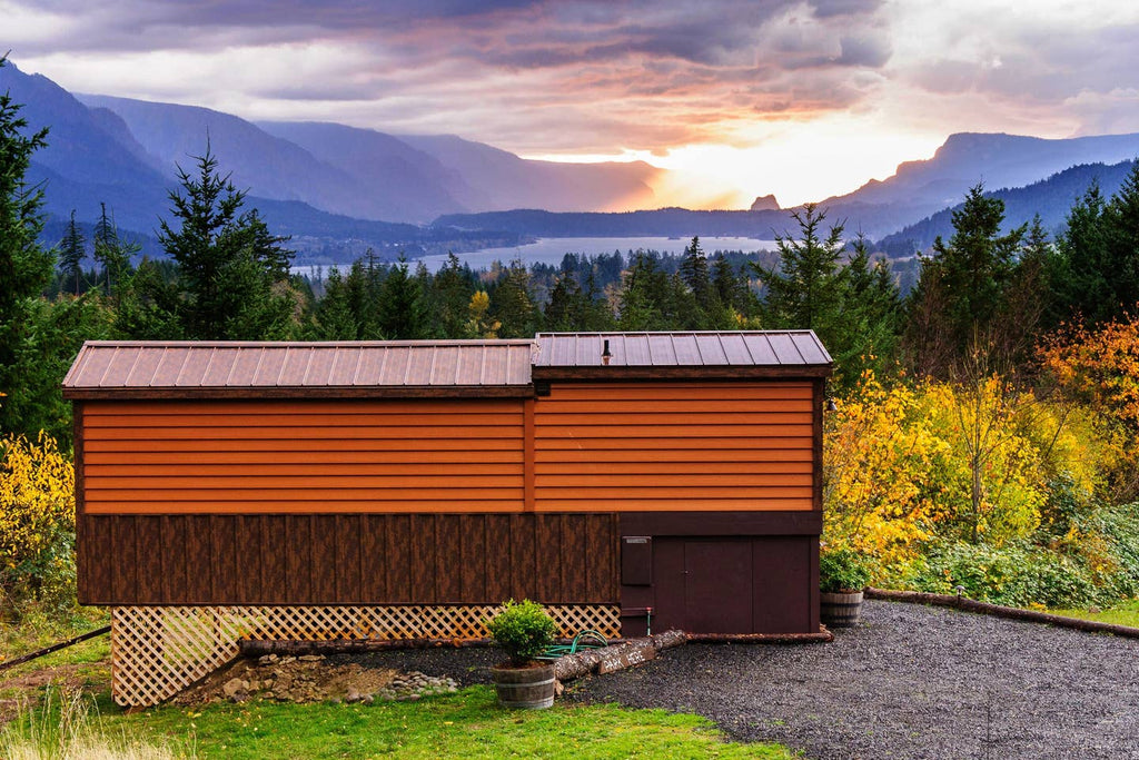 Secluded Tiny House with Gorgeous View for rent on Airbnb in Stevenson, Washington