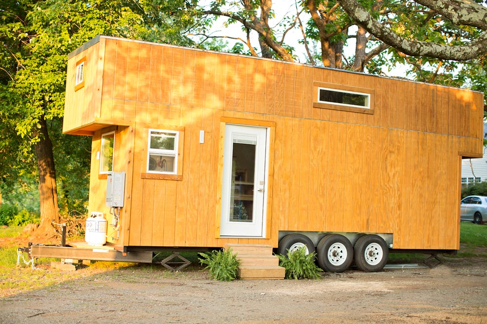 "The 24' ""Boho House"" Tiny Home on Wheels by Perch & Nest"