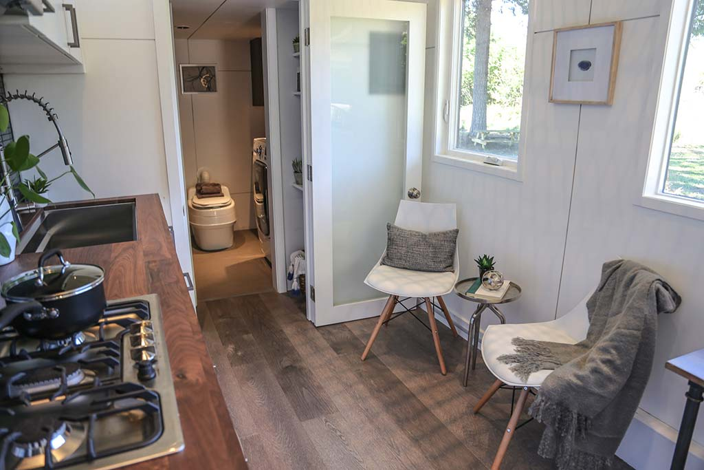 Tiny House Big Kitchen by Tiny Heirloom in Portland, Oregon