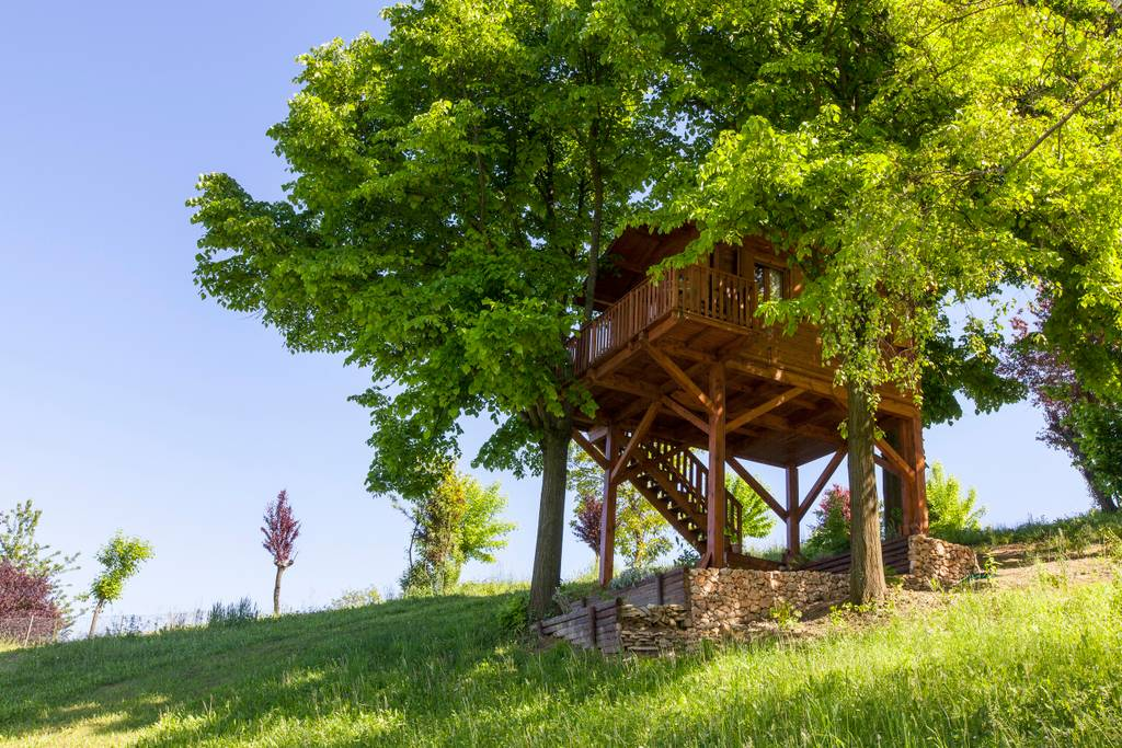 Tiny Treehouse in San Salvatore Monferrato, Italy - Airbnb