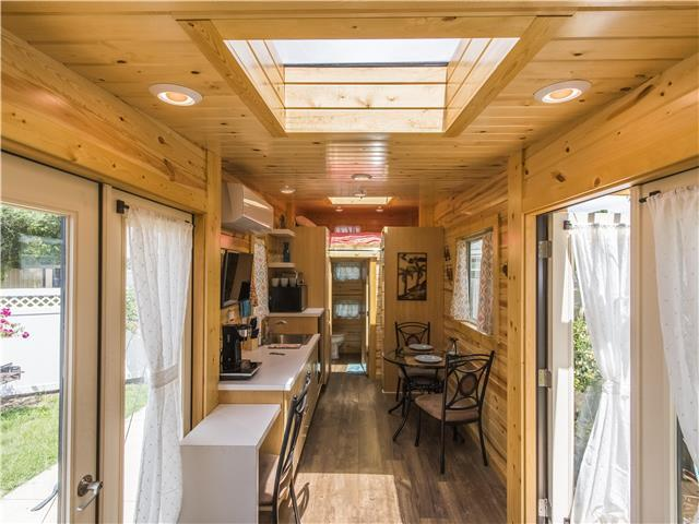 "28' ""Dragonfly"" Tiny House on Wheels by Utopian Villas"