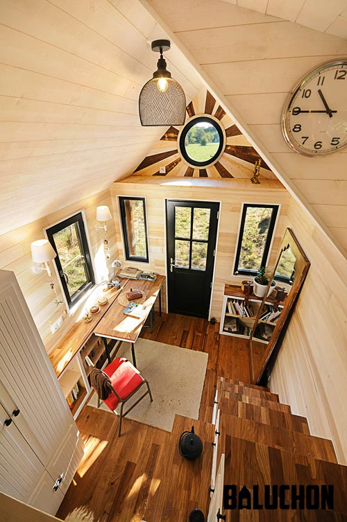 "6m ""Avonlea"" Tiny Home on Wheels by Tiny House Baluchon"
