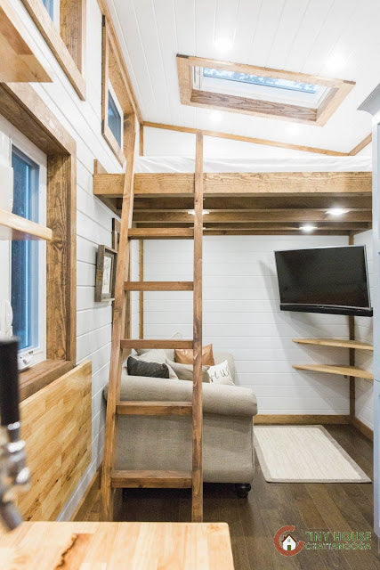 The Lookout XL Tiny Home on Wheels by Tiny House Chattanooga