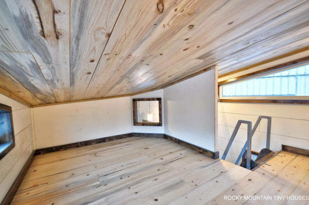"31' ""Infinitely Stoked"" Gooseneck Tiny Home on Wheels by Rocky Mountain Tiny Houses"