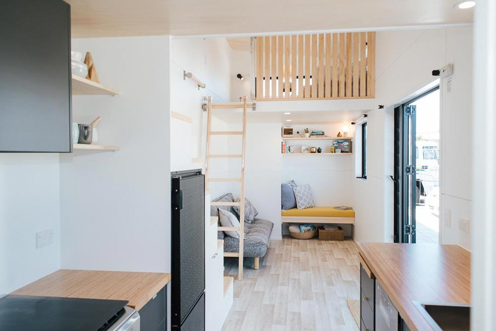 "8m ""Ibbotson"" Tiny House on Wheels by NZ-based Build Tiny"