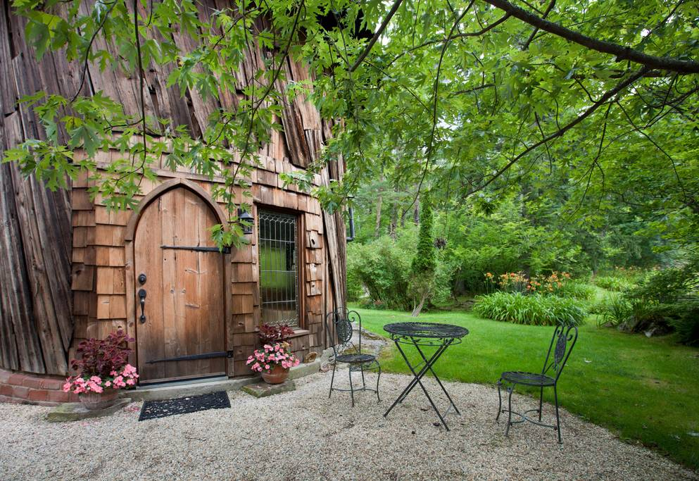 Silo Studio Cottage Tiny House in the Berkshires of Massachusetts