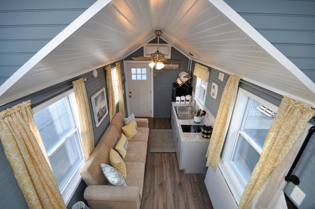 "The 272-sqft ""Laurel"" Tiny Home by Tiny House Building Company"