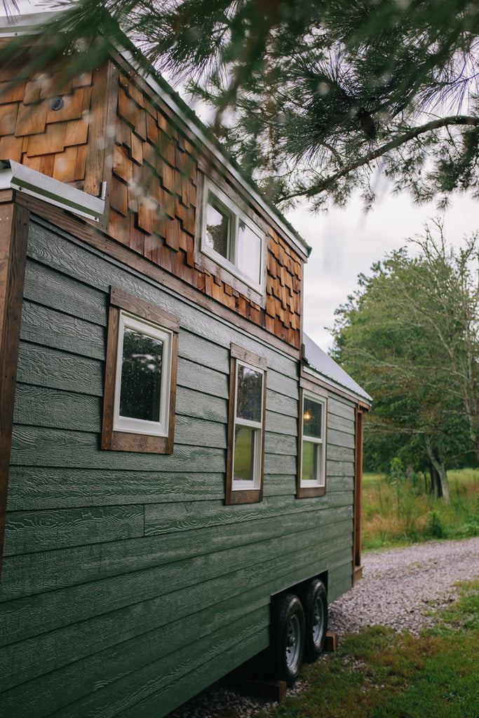 "Traditional 24' ""Acadia"" Tiny House on Wheels by Wind River Tiny Homes"