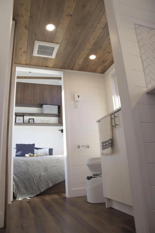 "10.5' x 36.5' ""Magnolia"" Tiny Home on Wheels by Minimaliste Tiny Houses"