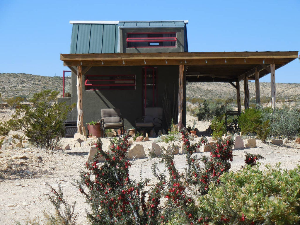 """Tiny Terlingua"" Tiny House for rent on Airbnb in Terlingua, Texas"