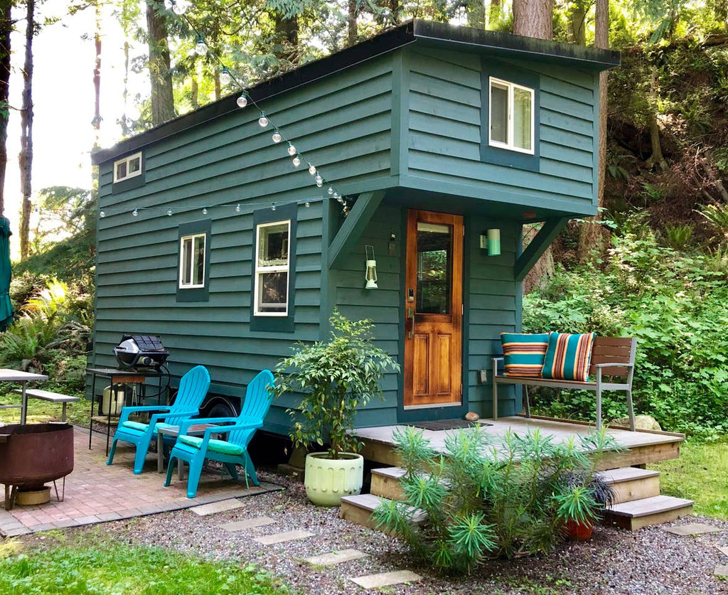 Tiny House on Guemes Island for rent on Airbnb in Anacortes, Washington
