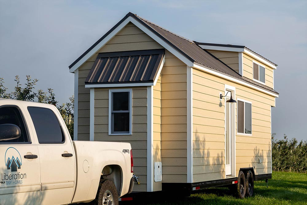 "24' ""Rumspringa"" Tiny House on Wheels by Liberation Tiny Homes"