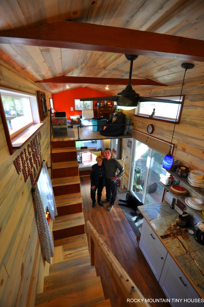 "28' ""Harmony Haven"" Tiny Home by Rocky Mountain Tiny Houses"