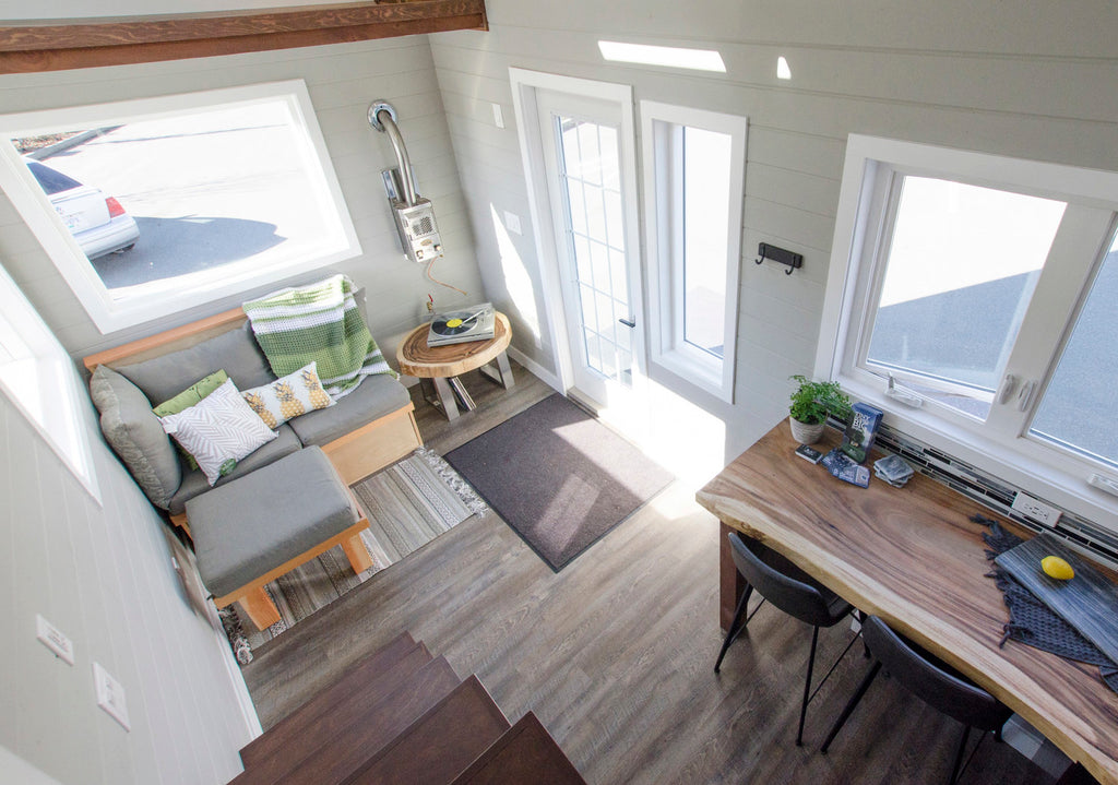 "24' ""Fox Sparrow"" Tiny House on Wheels by Rewild Homes"