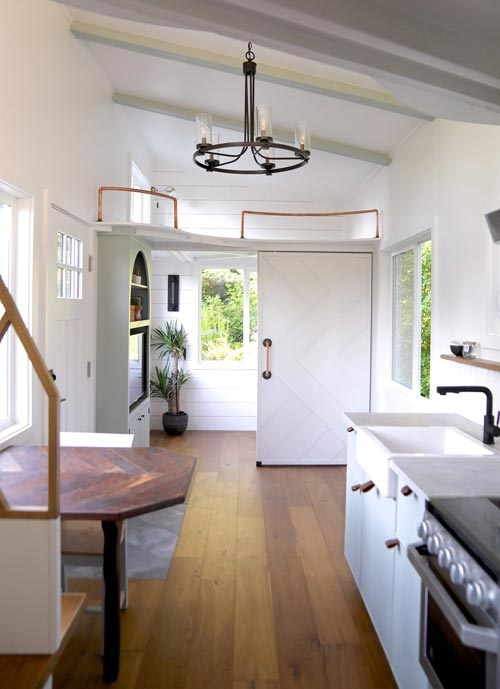 "30' ""Laguna"" Tiny House on Wheels by Handcrafted Movement"