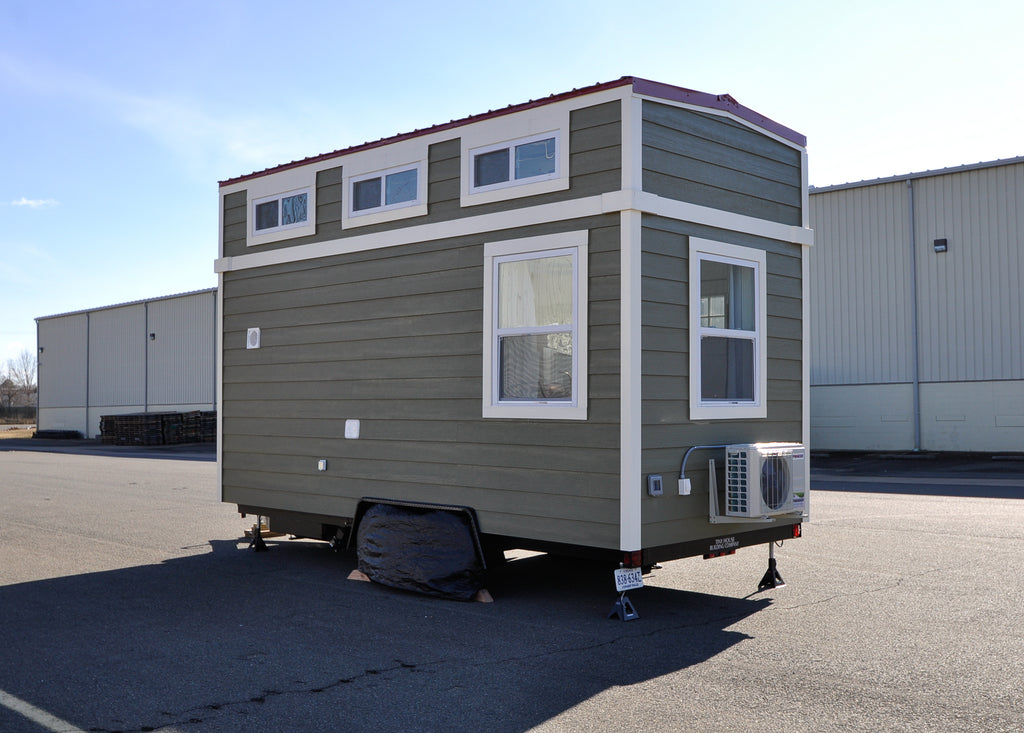 "The Charming 18' ""Ascot"" Tiny Home by Tiny House Building Company"
