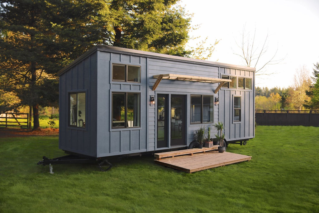 "30' ""Pacific Harbor"" Tiny House on Wheels by Handcrafted Movement"