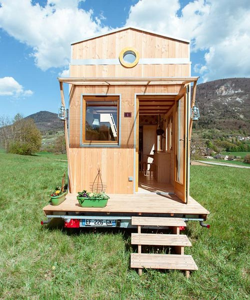 "7.2m ""Head in the Stars"" Tiny House on Wheels by Optinid"