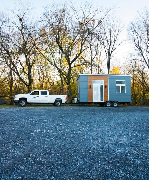 "The 20' ""Modern"" Tiny House by Liberation Tiny Homes"