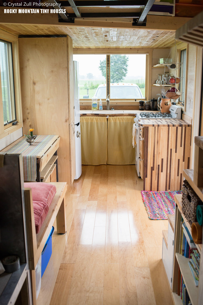 "The 250-sqft ""Pequod"" Tiny Home by Rocky Mountain Tiny Houses"