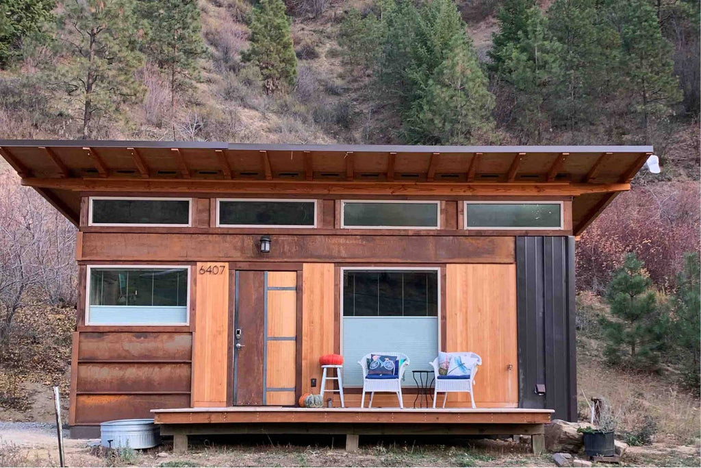 Tiny House at Holladay Hill for rent on Airbnb in Cashmere, Washington